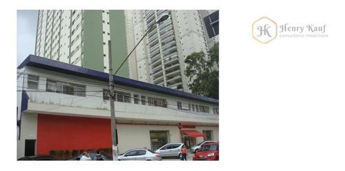 Imagem 1 de 5 de Salão  Comercial Para Locação, Brooklin Paulista - Sl0002