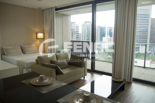 Vila Olímpia  Flat Pronto Para Morar  42m² - 256850