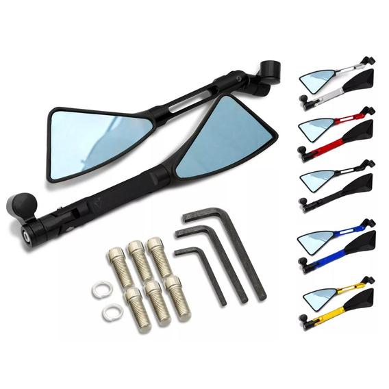 Retrovisor Moto Tipo Rizoma Esportivo 100% Aluminio 17387