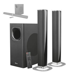 Barra Sonido 2.1 Desmontable Trust Lino Xl Bt 200w Tv Pc