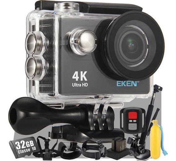 Câmera Filmadora Eken H9r 4k Wi-fi Fullhd Aventura + Brindes