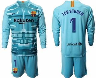 Kit Infantil Goleiro Ter Stegen Oficial Barcelona Nike!
