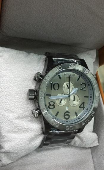 Relógio Ty017 Nixon 51-30 Cinza Chrono Série Chumbo Oferta
