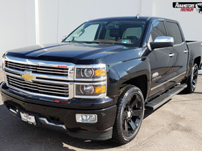 Chevrolet Cheyenne High Country Crew Cab Piel 4x4 Negro 2015