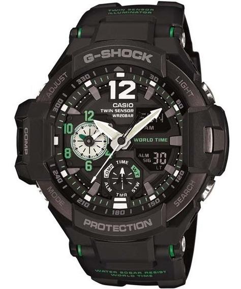 Relógio Masculino G-shock Ga-1100-1a3 Gravitymaster