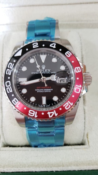 Relógio Rolex Gmt-master Ii Black Automático A Prova D