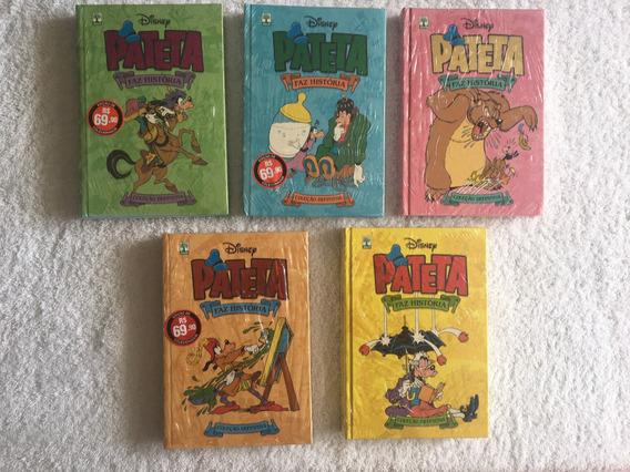 Pateta Faz A História - 5 Volumes (lacrados)