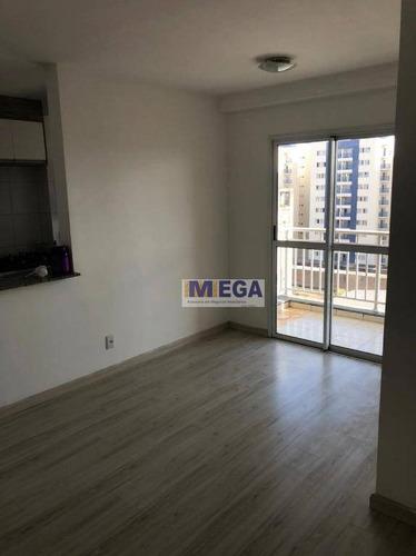 Apartamento Com 2 Dormitórios À Venda, 55 M² Por R$ 297.900 - Vila Industrial - Campinas/sp - Ap4913