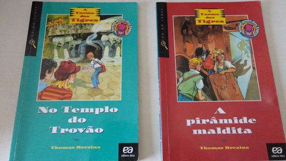 A Turma Dos Tigres Thomas Brezina Lote De 6 Livros