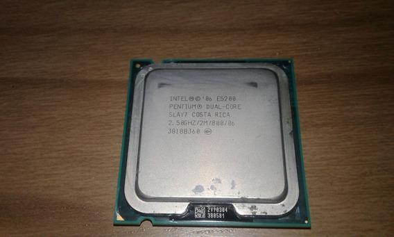 Processador Intel Duo-core 2.5ghz - E5200 + Cooler