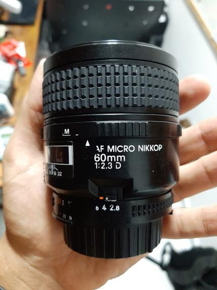 Lente Nikkor Nikon Af Micro 60mm F/2.8