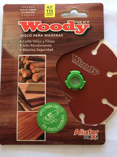 Disco Corte Madera  Woody  7  180m Maxima Seguridad