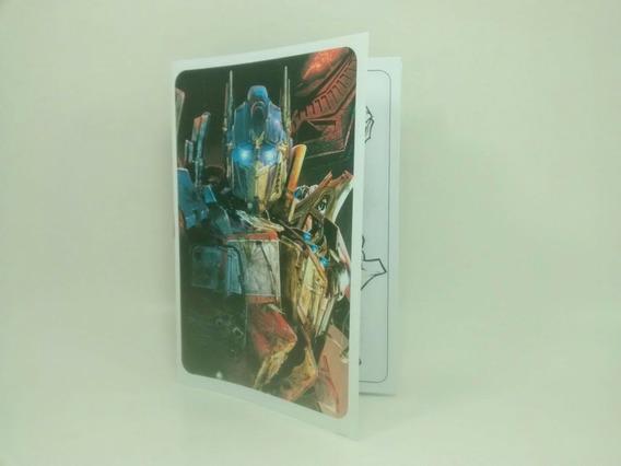 Transformers - Libritos Para Pintar (pack X40)