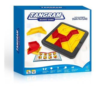 Juego De Ingenio Tangram Board Game Formas Full