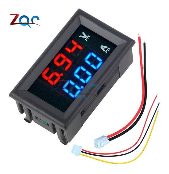 Mini Digital Voltímetro Amperímetro