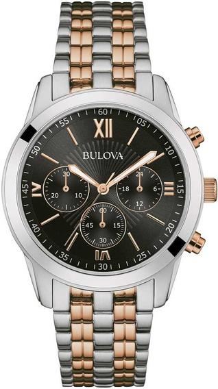 Relógio Bulova Masculino Classic Cronógrafo Wb22382p