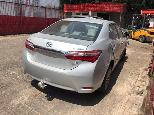 Imagem 1 de 7 de Sucata Toyota Corolla 14/15 Prata 154cvs