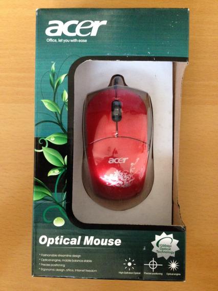 Mouse Acer Fashion Usb 1200 Dpi Kingpc7.5 (somos Tienda)