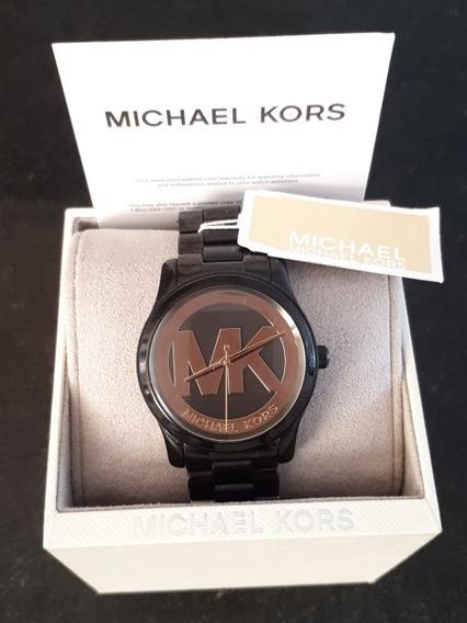 Relógio Michael Kors Gold&black Mk6057