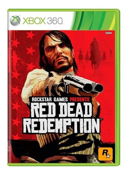 Red Dead Redemption Xbox 360 Mídia Física Pronta Entrega