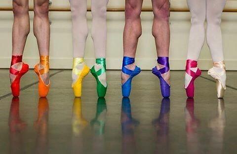 Zapatillas De Puntas $1700 Raso En Variedad De Colores