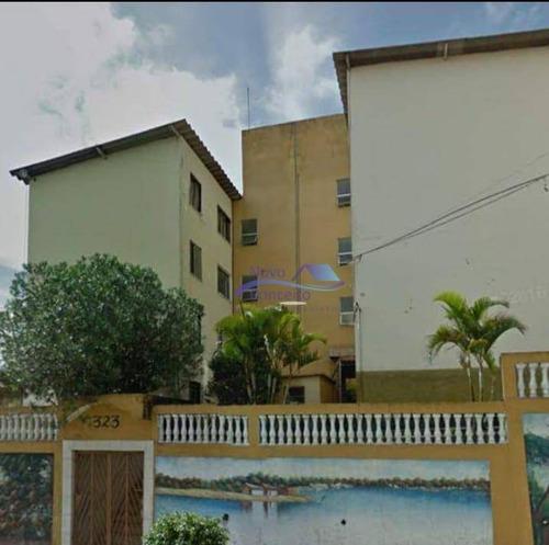 Apartamento Com 2 Dormitórios À Venda, 50 M² Por R$ 130.000,00 - Conjunto Habitacional Santa Etelvina Ii - São Paulo/sp - Ap0096