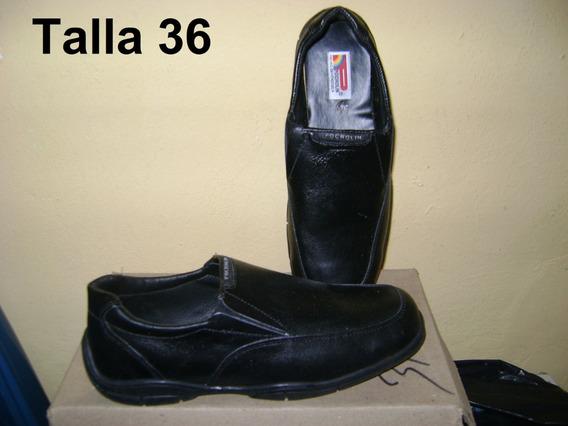 Zapatos Escolares Mocasines Niños Hombre 100% Cuero