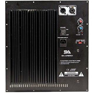 Seismic Audio Sa-apef01-800 Watt Plate Amplificador Pa Dj ®