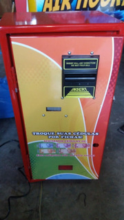 Máquina De Troca Cédula Por Moeda
