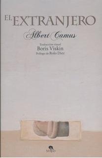 Libro El Extranjero - Arte Y Letras De Albert Camus