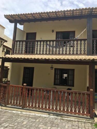 Casa Em Praia Grande, Arraial Do Cabo/rj De 145m² 2 Quartos À Venda Por R$ 400.000,00 - Ca428920