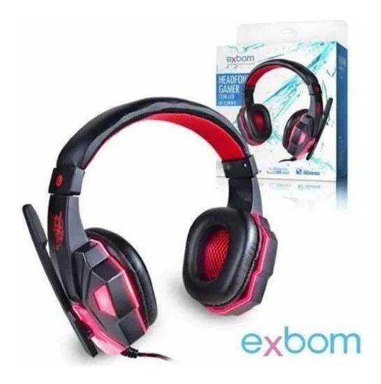 Headfone Gamer Usb Para Ps4 Com Microfone Led E Cabo