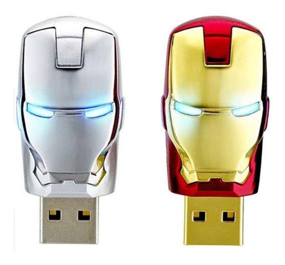 Pen Drive Homem De Ferro 32gb Iron Man - Original