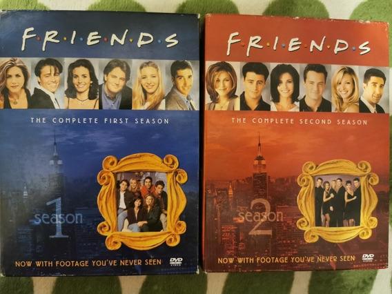 Serie Friends Temporada 1 Y 2 Dvd