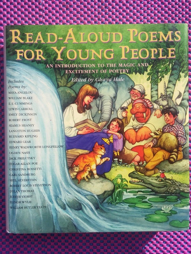Read Aloud Poems For Young People Hard Back Idioma Ingles