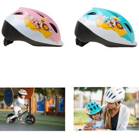 Capacete Infantil Para Bike Bicicleta Cor Azul Ou Rosa