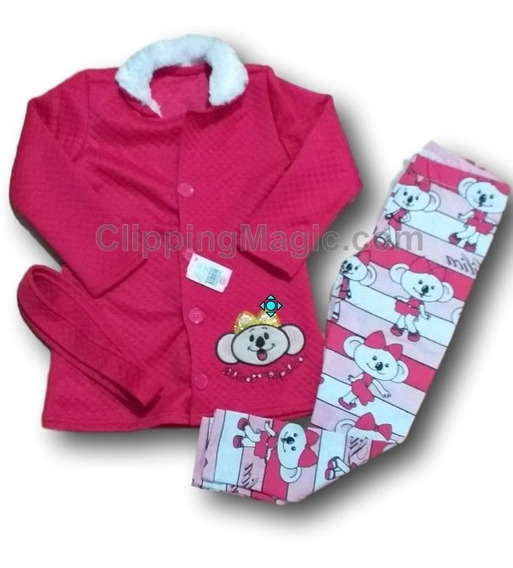 Conjunto Menina Infantil Calça Blusa Inverno Frio Personagem