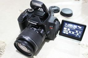 Canon T3i Ou T4i Com Lente 18-55mm. Confira Mais Lentes