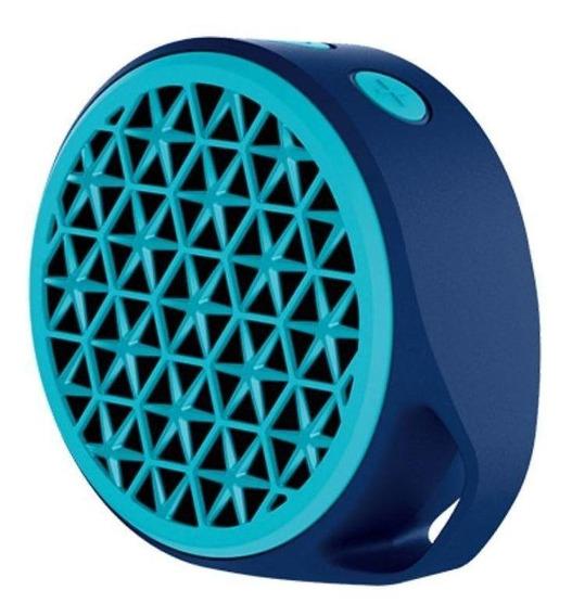Caixa de som Logitech X50 portátil sem fio Azul