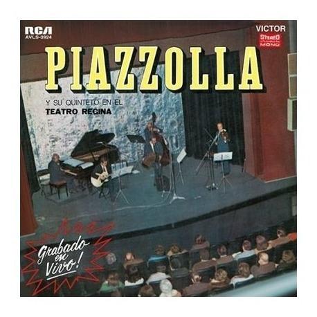 Piazzolla Astor Piazzolla Teatro Regina Lp Vinilo Nuevo