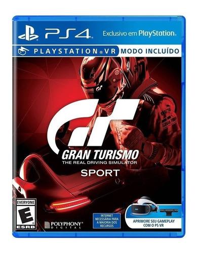 Imagen 1 de 4 de Gran Turismo Sport Standard Edition Sony PS4 Físico