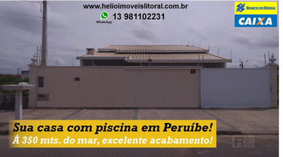 Casa A Venda No Bairro Balneareo Belmira Novaes Em Peruíbe - 144-1