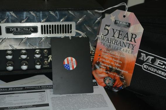 Amplificador Valvulado Mesa Boogie Mini Rectifier Ñ Marshall