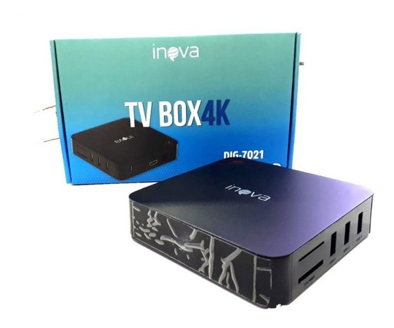 Conversor Digital Tv Box 4k Dig-7021 Inova Tv Box 4k Inova