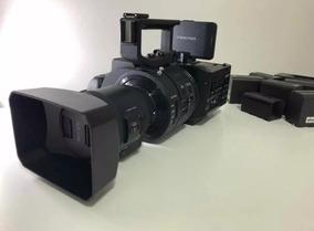 Filmadora Sony Nex Fs700u 4k Super 35 Lente Sony 18-200 M