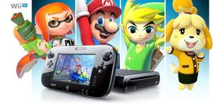 Wiiu Con Chip + 120 Juegos Promo Buen Fin