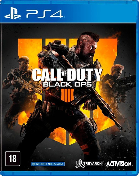 Call Of Duty Black Ops 4 Ps4 Mídia Digital 1 Inglês Promoção