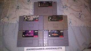 Super Nintendo Paquete Mortal Kombat Snes