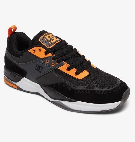 Zapatillas Dc Shoes E-tribeka S S Black Orange Pro