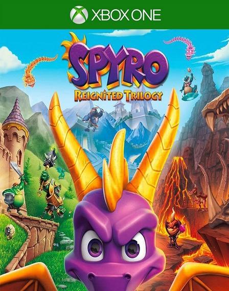 Spyro Reignited Trilogy Xbox One - Midia Fisica